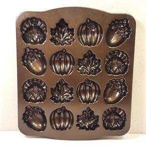 Nordic Ware Kitchen - 👹SOLD👹Nordic Ware Autumn Cake Pan Thanksgiving